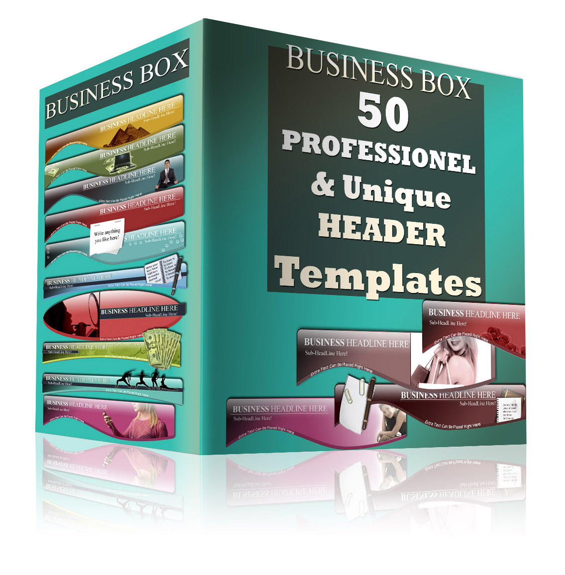 50 Professional and Unique Header Templates